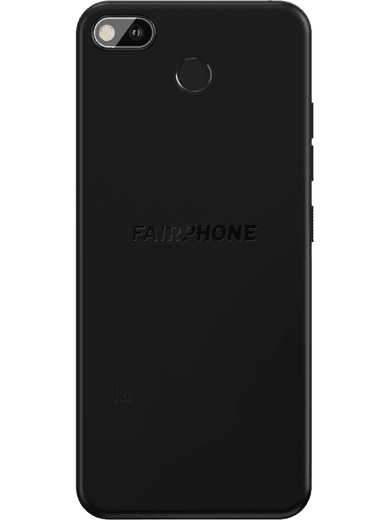 Fairphone 3+ 64GB schwarz