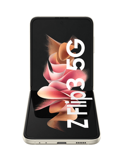 Samsung Galaxy Z Flip3 5G 128GB Phantom Cream