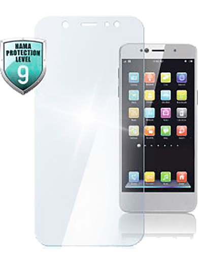 Hama Echtglas-Displayschutz Premium Crystal Glass für Samsung Galaxy A40