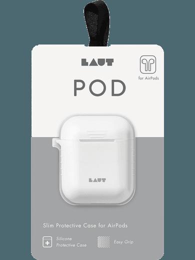 LAUT POD Silicon Case für Apple AirPods weiß