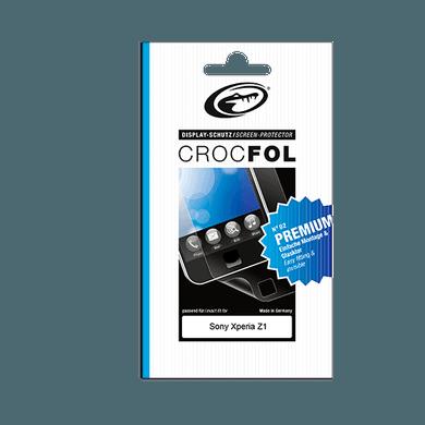 Crocfol Displayschutzfolie Premium für Sony Xperia Z1