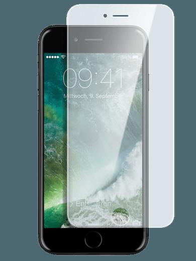 freenet Basics Real Glass 3D für iPhone 6/6s/7/8 transparent