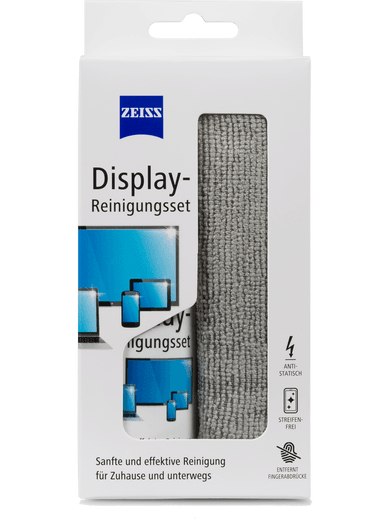 Zeiss Display-Reinigungsset weiß