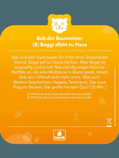 tigercard - Bob der Baumeister - Folge 8: Baggi allein zu Haus