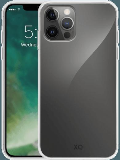 XQISIT Flex Case iPhone 12/12 Pro (transparent)