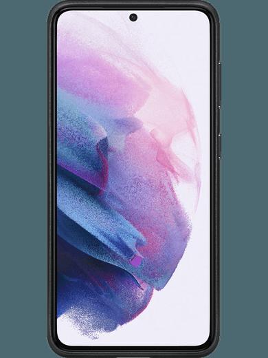Samsung EF-VG991 Leather Cover Galaxy S21 (schwarz)