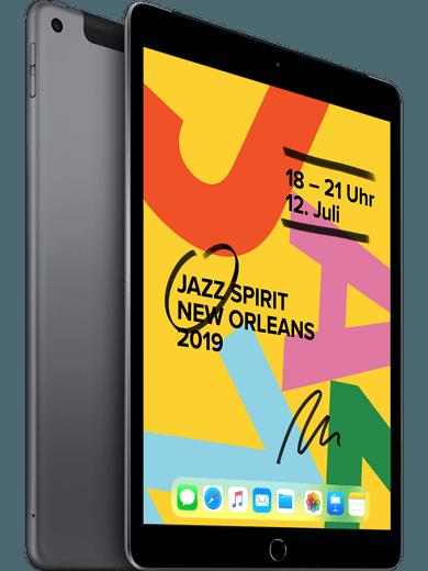 Apple iPad Wi-Fi+Cell (2019) 32GB Space Grau