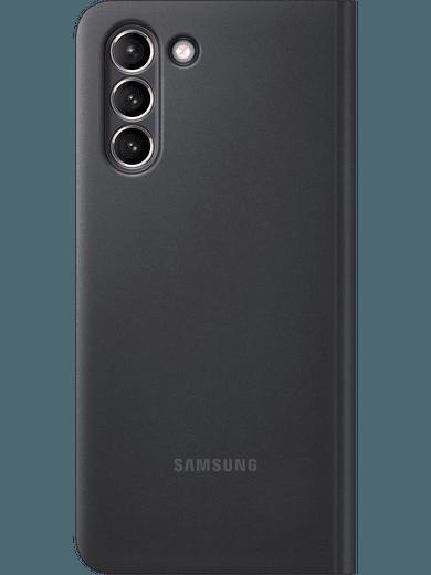 Samsung EF-ZG991 Smart Clear View Cover Galaxy S21 (schwarz)