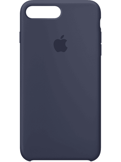 Apple iPhone 6+/6s+/7+/8+ Plus Silikon Case Blau