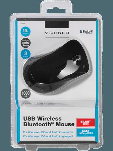 Vivanco Bluetooth-Maus (schwarz)