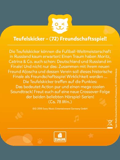 tigercard - Teufelskicker - Folge 72: Freundschaftsspiel