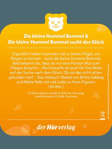 tigercard - Die kleine Hummel Bommel - Sucht das Glück