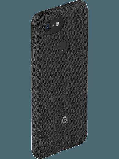 Google Stoff Case für Pixel 3 carbon