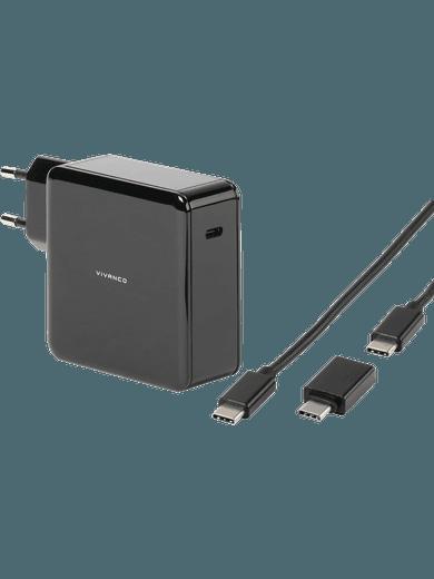 Vivanco Universal USB-C Ladegerät schwarz