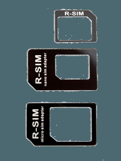 freenet Basics SIM-Karten Adapterset schwarz