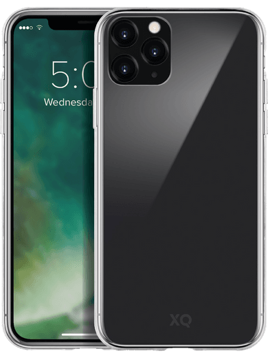 XQISIT Phantom Glass Case iPhone 11 Pro Max (transparent)