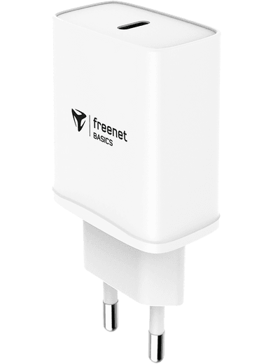 freenet Basics Travel Charger USB-C Power Delivery 20W (weiß)