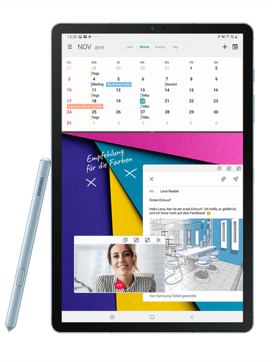 Samsung Galaxy Tab S6 WiFi 128GB blau