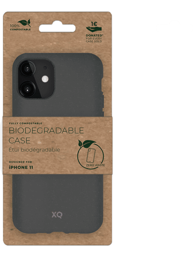 XQISIT ECO Flex iPhone 11 grau