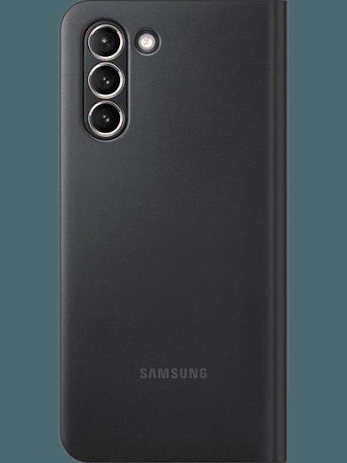 Samsung EF-NG991 Smart LED View Cover Galaxy S21 (schwarz)