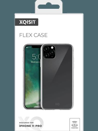 XQISIT Flex Case iPhone 11 Pro (transparent)