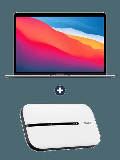 MacBook Air 13,3 Zoll (2020) + Huawei Surfbox