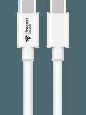 freenet Basics USB-C auf USB-C Kabel 1,5m weiß 3332406