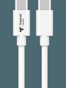 freenet Basics Kabel USB-C auf USB-C 1,5m