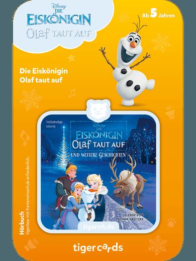tigercard - Die Eiskönigin - Olaf taut auf