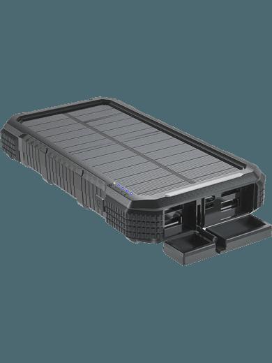 4smarts Solar Powerbank TitanPack 20.000 mAH (schwarz)