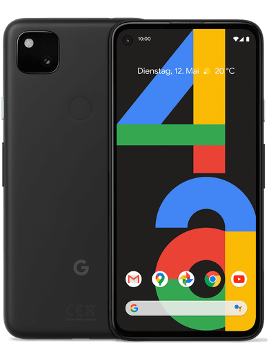 Google Pixel 4a 128GB schwarz