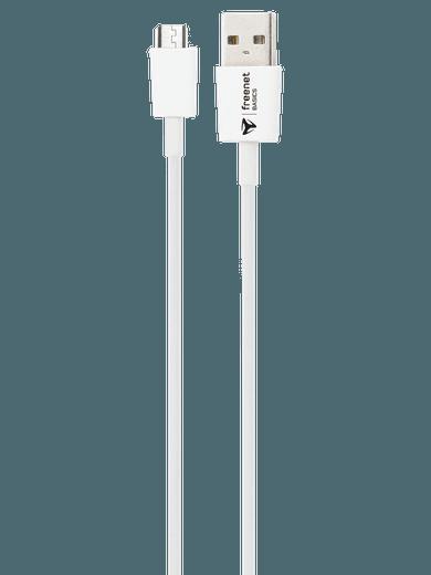 freenet Basics Lade- & Datenkabel Micro-USB 100cm Weiß