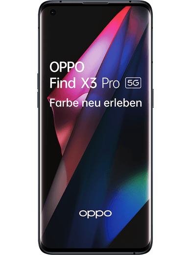 Oppo Find X3 Pro 5G 265GB Gloss Black