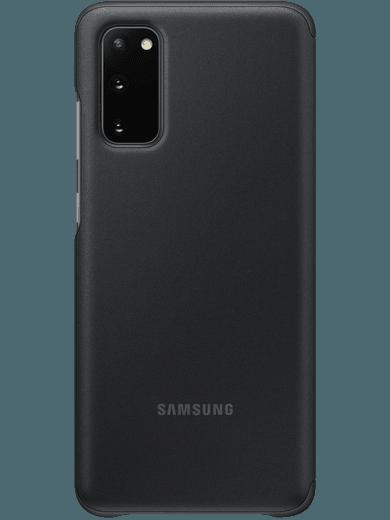 Samsung EF-ZG980 Clear-View Cover Samsung Galaxy S20 (schwarz)