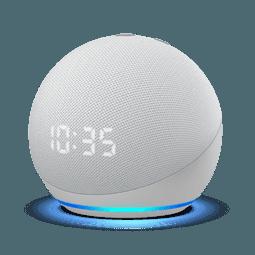 Amazon Echo Dot (4. Generation) mit Uhr