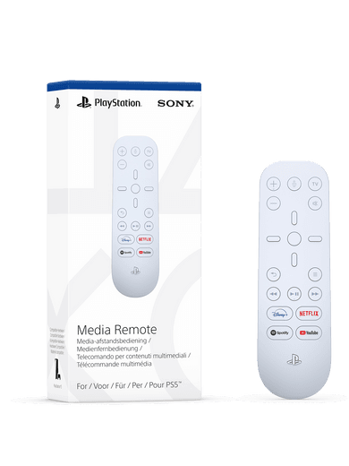 Sony Playstation 5 Medienfernbedienung (weiß)