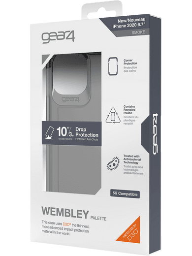 GEAR4 Wembley iPhone 12 Pro Max (schwarz)