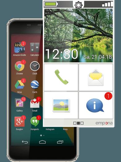 emporia App: Mach Dein Smartphone einfach