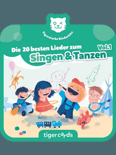 tigercard - Die 20 besten Lieder zum Singen und Tanzen