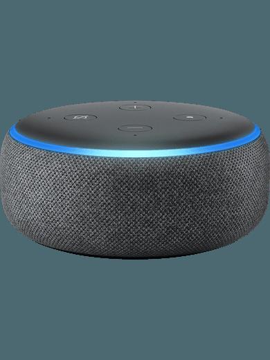 Amazon Echo Dot (3. Generation) Anthrazit Stoff