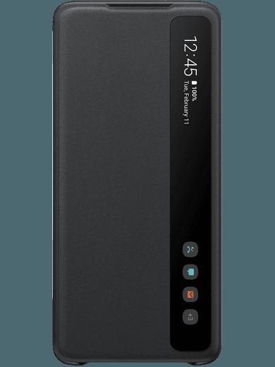 Samsung EF-ZG985 Clear-View Cover Samsung Galaxy S20+ (schwarz)