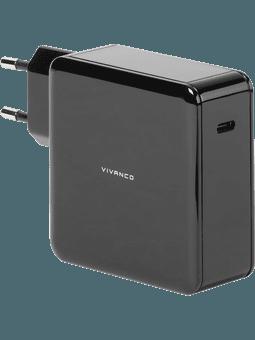 Vivanco Universal-Ladegerät USB-C schwarz