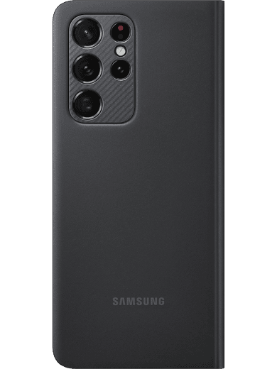 Samsung EF-ZG998 Smart Clear View Cover Galaxy S21 Ultra (schwarz)