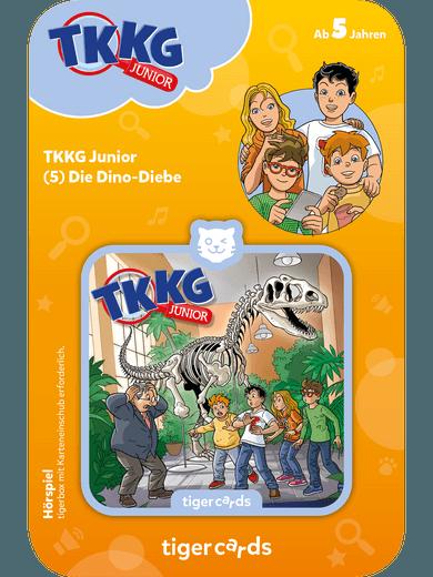 tigercard - TKKG Junior - Folge 5: Dino-Diebe