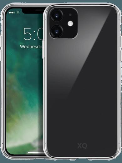 XQISIT Phantom Glass Case iPhone 11 (transparent)