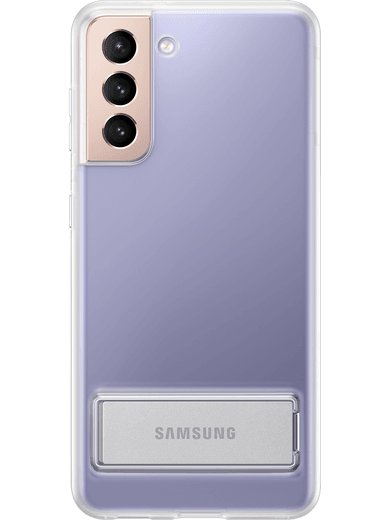 Samsung EF-JG991 Clear Standing Cover Galaxy S21 (transparent)