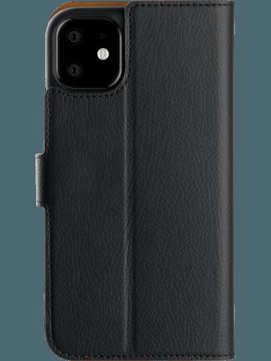 XQISIT Slim Wallet iPhone 11 (schwarz)