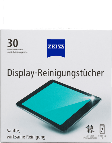 Zeiss Display Reinigungstuch 30er Set