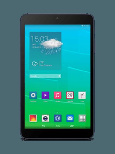 Alcatel One Touch Pixi 8 WiFi 4GB black