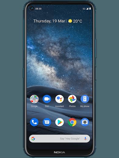 Nokia 8.3 5G 128GB blau